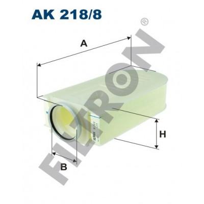 Filtro de Aire Filtron AK218/8 Mercedes C (W204), CLS (C218), E (C207), E (W212), GLK (X204)