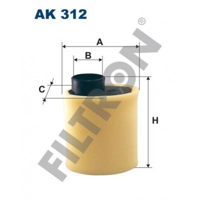 Filtro de Aire Filtron AK312