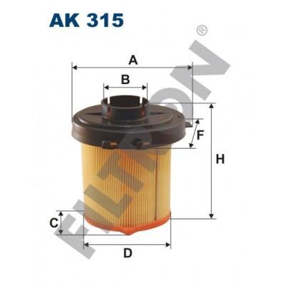 Filtro de Aire Filtron AK315