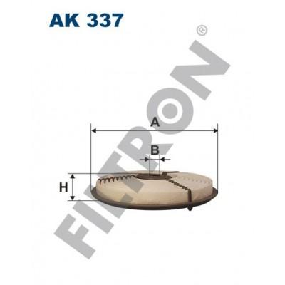 Filtro de Aire Filtron AK337 Chevrolet Metro, Subaru Justy I/II, Suzuki Swift II