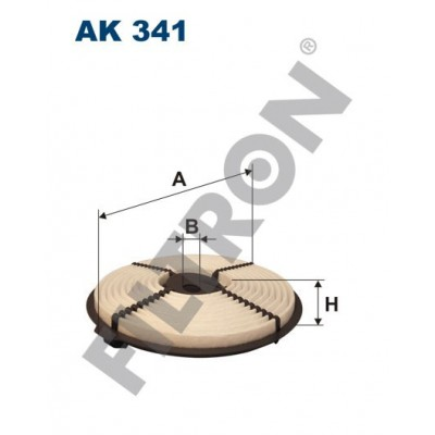 Filtro de Aire Filtron AK341