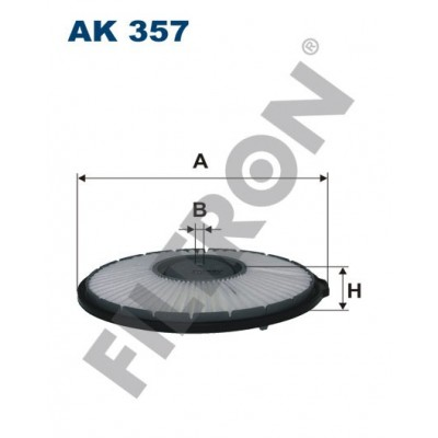 Filtro de Aire Filtron AK357