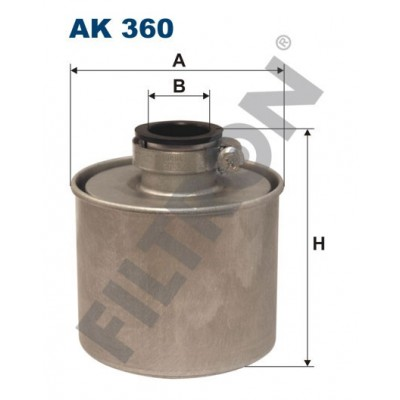 Filtro de Aire Filtron AK360