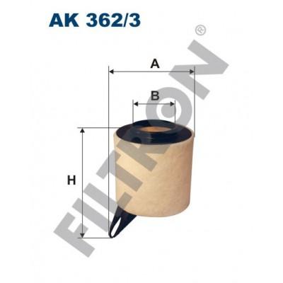 Filtro de Aire Filtron AK362/3 BMW Serie 1 (E81/E82/E87/E88)