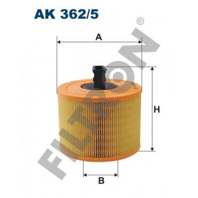 Filtro de Aire Filtron AK362/5 BMW Serie 1 (E81/E82/E87/E88), Serie 3 (E90/E91/E92/E93), Serie X1 (E84)