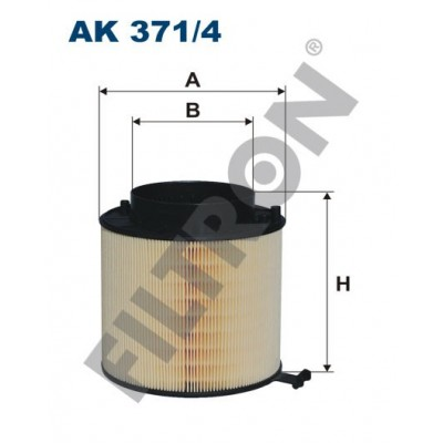 Filtro de Aire Filtron AK371/4 Audi A4 (B8/8K), A5 (8T), Q5 (8R)