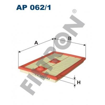 Filtro de Aire Filtron AP062/1 Audi A1 (8X), A3 II (8P1/8PA), A3 III (8V), Q2 (GA), Q3, Seat Ateca, Ibiza V, Leon III