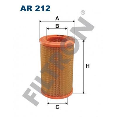 Filtro de Aire Filtron AR212 Skoda Rapid 120G/130/135G, S100, S110, S105L, S105S, S120L, S110, S120S, S105L, S130GL, S120GLS