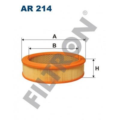 Filtro de Aire Filtron AR214 Fiat, FSD Nysa, FSO Fiat 125P, Polonez, Lada 2101, 2102, 2103, 2104, 2105, 2106, 2107, 2110, 2111