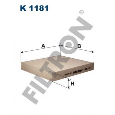 Filtro de Habitáculo Filtron K1181 Subaru Impreza II