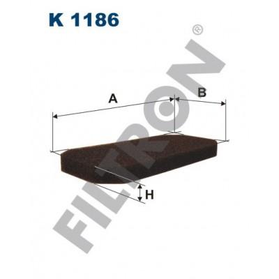 Filtro de Habitáculo Filtron K1186