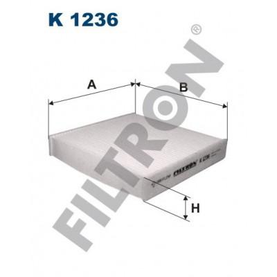 Filtro de Habitáculo Filtron K1236 Daihatsu Cuore, Fiat Sedici, Suzuki Swift III, SX-4
