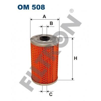 Filtro de Aceite Filtron OM508 Skoda 1000MB, S100, S110, S105L,S110, S120S, S120LS, S120GLS