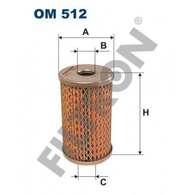 Filtro de Aceite Filtron OM512