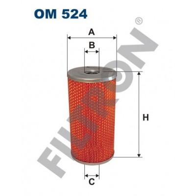 Filtro de Aceite Filtron OM524