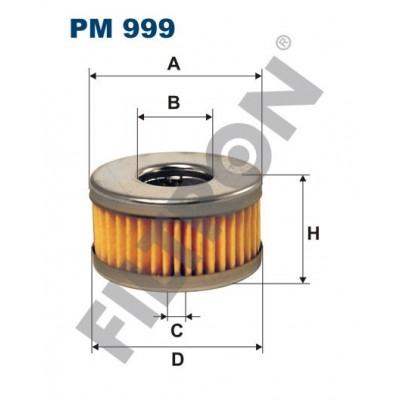 Filtro de Combustible Filtron PM999