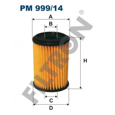 Filtro de Combustible Filtron PM999/14