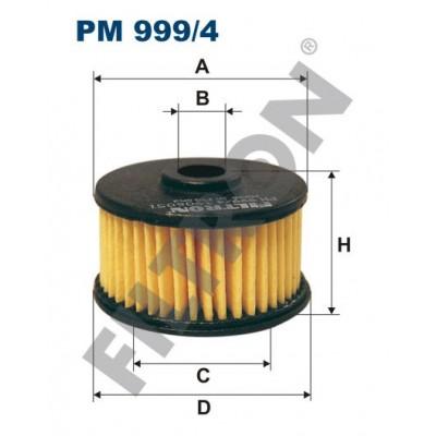 Filtro de Combustible Filtron PM999/4