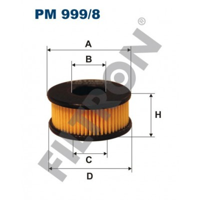 Filtro de Combustible Filtron PM999/8