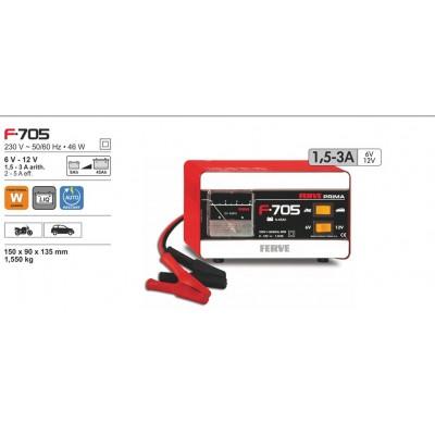 Cargador de baterías Ferve PRIMA F-705