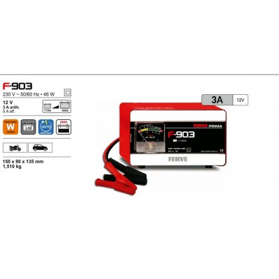 Cargador de baterías Ferve PRIMA F-903