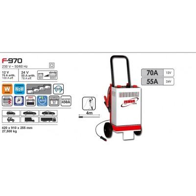 Cargador de baterías Ferve FAST F-970
