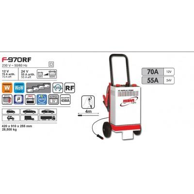 Cargador de baterías Ferve FAST F-970 RF