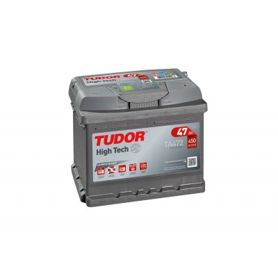 Batería TUDOR HIGH-TECH TA472 47Ah 450A