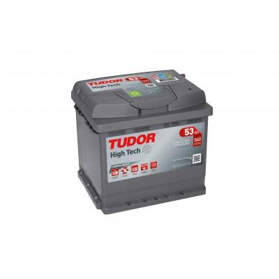 Batería TUDOR HIGH-TECH TA530 53Ah 540A