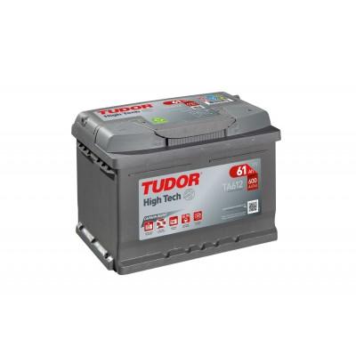Batería TUDOR HIGH-TECH TA612 61Ah 600A