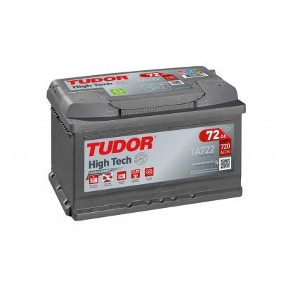 Batería TUDOR HIGH-TECH TA722 72Ah 720A