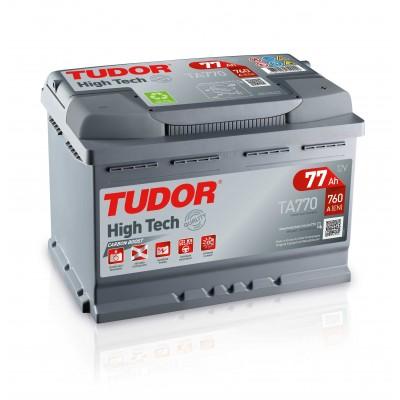 Batería TUDOR HIGH-TECH TA770 77Ah 760A
