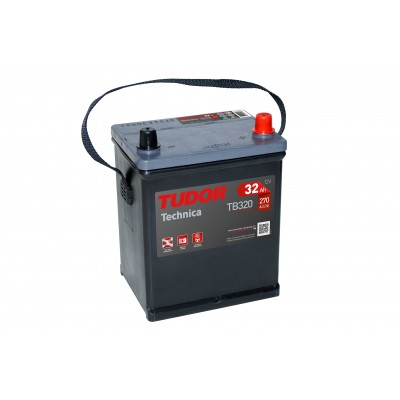Batería TUDOR TECHNICA TB320 32Ah 270A