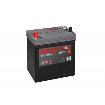 Batería TUDOR TECHNICA TB357 35Ah 240A