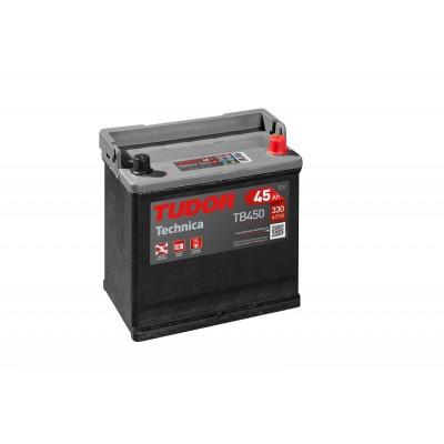 Batería TUDOR TECHNICA TB450 45Ah 330A