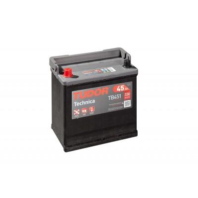 Batería TUDOR TECHNICA TB451 45Ah 330A