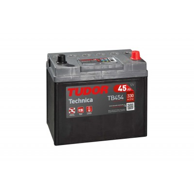 Batería TUDOR TECHNICA TB454 45Ah 330A