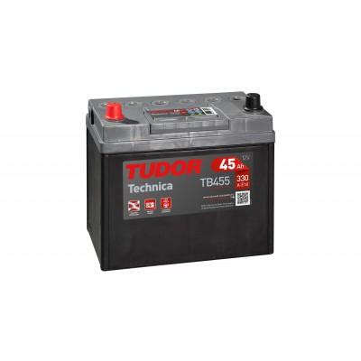 Batería TUDOR TECHNICA TB455 45Ah 330A