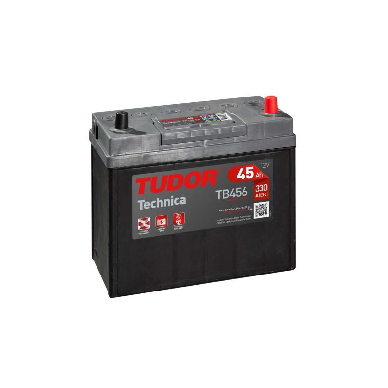 Batería TUDOR TECHNICA TB456 45Ah 330A