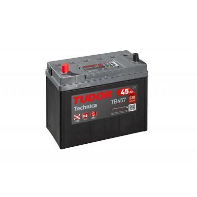 Batería TUDOR TECHNICA TB457 45Ah 330A
