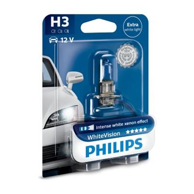 LAMPARA H3 12V WHITEVISION - 12336WHVB1