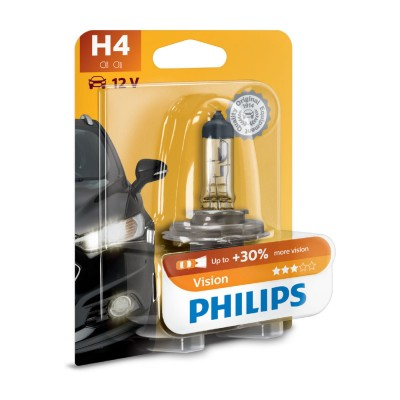 LAMPARA PHILIPS BLISTER H4 12V - 12342PRB1