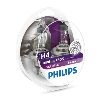 ESTUCHE H4 VISION PLUS PHILIPS - 12342VPS2