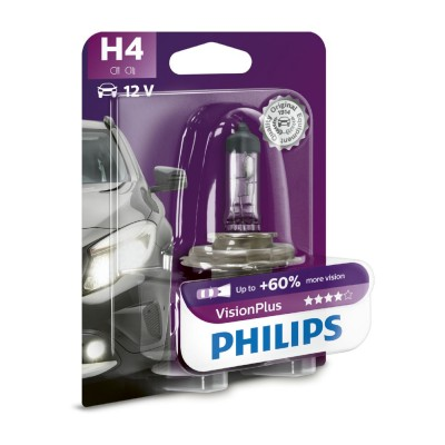 ESTUCHE H4 VISION PLUS PHILIPS - 12342VPB1