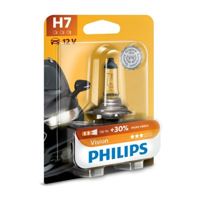 LAMPARA PHILIPS BLISTER H7 12V - 12972PRB1