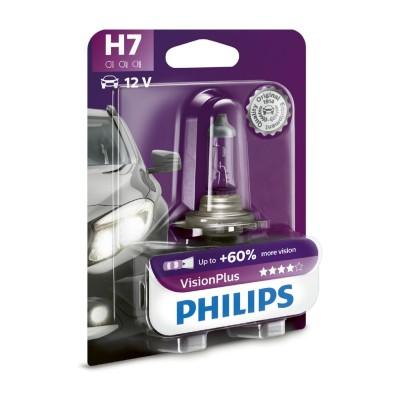 SET H7 VISION PLUS12V 55W - 12972VPB1