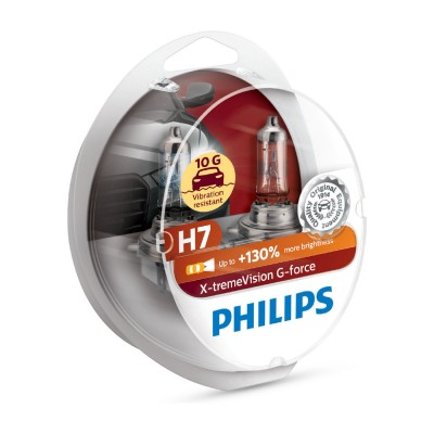 SET H7+130% EXTREME VISION PHILIPS - 12972XVGS2