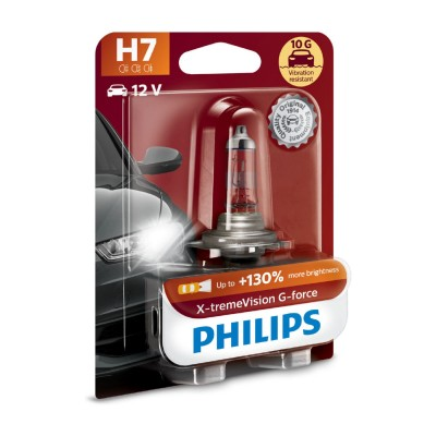 SET H7+130% EXTREME VISION PHILIPS - 12972XVGB1